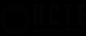 Logo ACTE Monochrome Noir 1